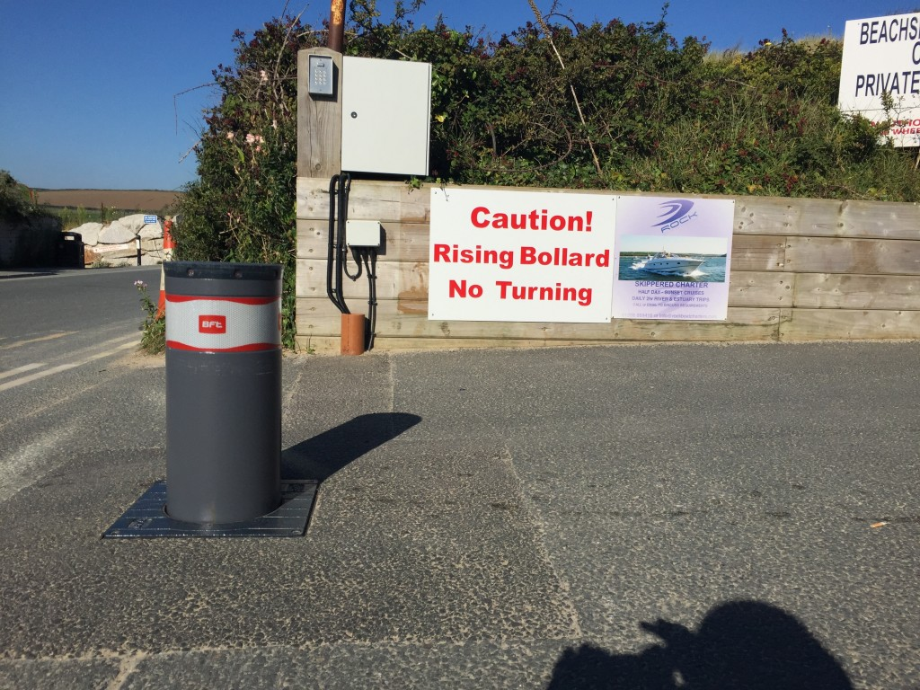 Automatic bollards in cornwall