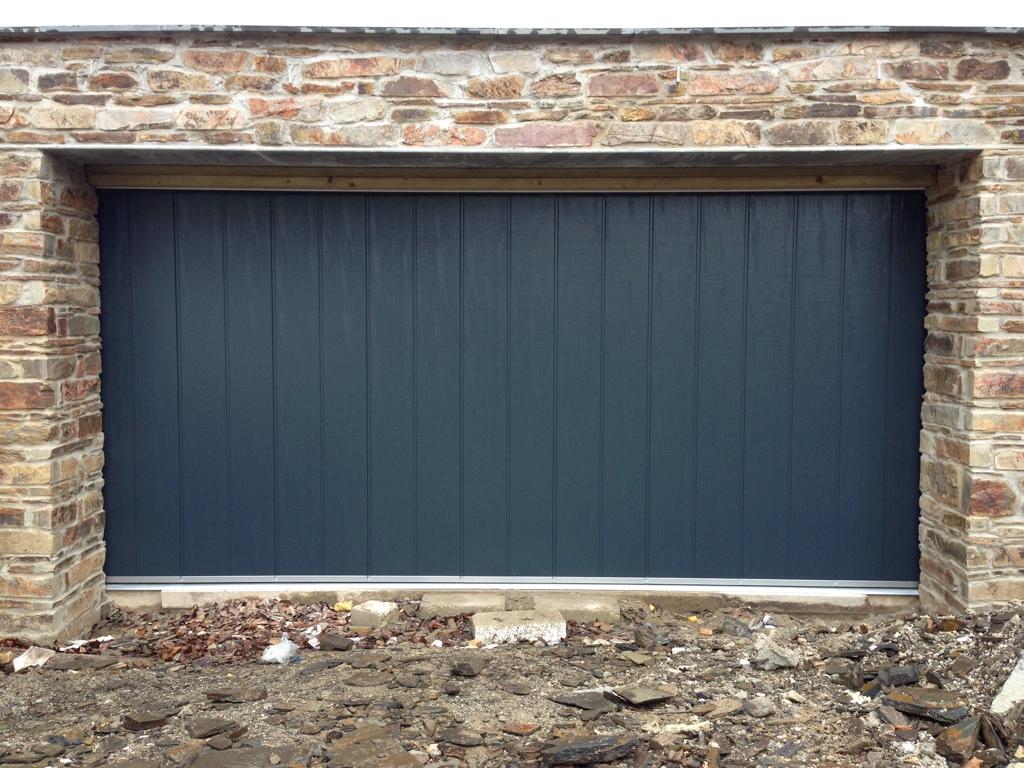 Hormann and rundum meir sliding garage doors south west for Sliding garage doors