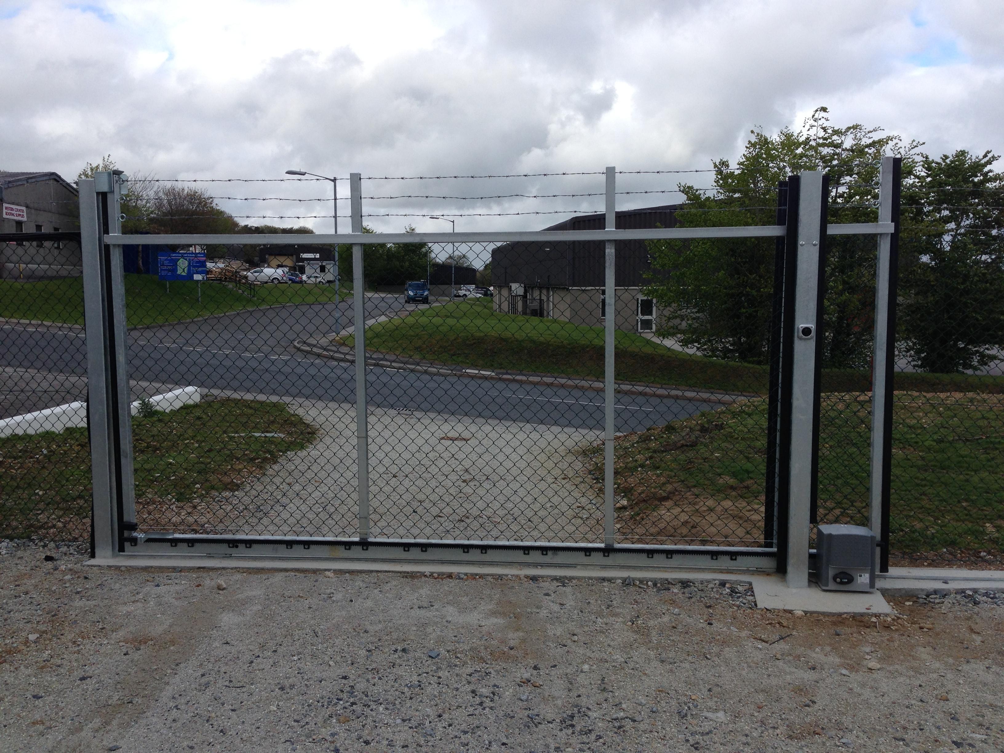 Industrial Sliding Gates South West Garage Doors