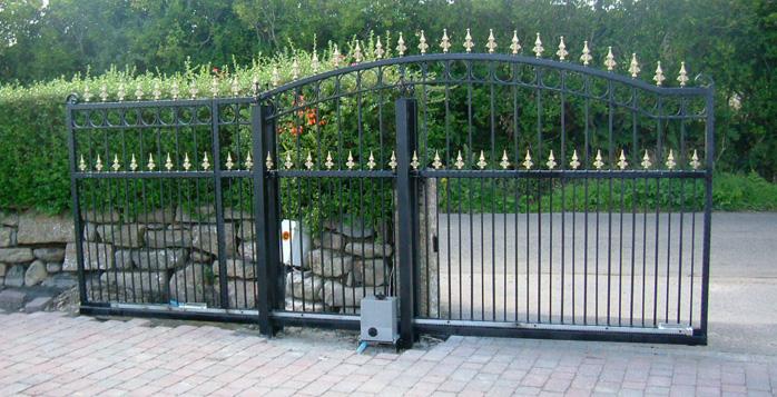Steel Sliding Gates South West Garage Doors