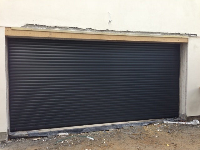 Hormann Rollmatic In Anthracite Grey South West Garage Doors