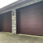 Hormann Rosewood Rollmatic Garage Doors, Bodmin